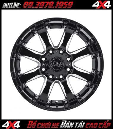 Hình ảnh: Mâm ô tô mạnh mẽ: Mâm Blackrhino Sierra Gloss Black 20 Inch dành cho xe pick-up và SUV ở TpHCM