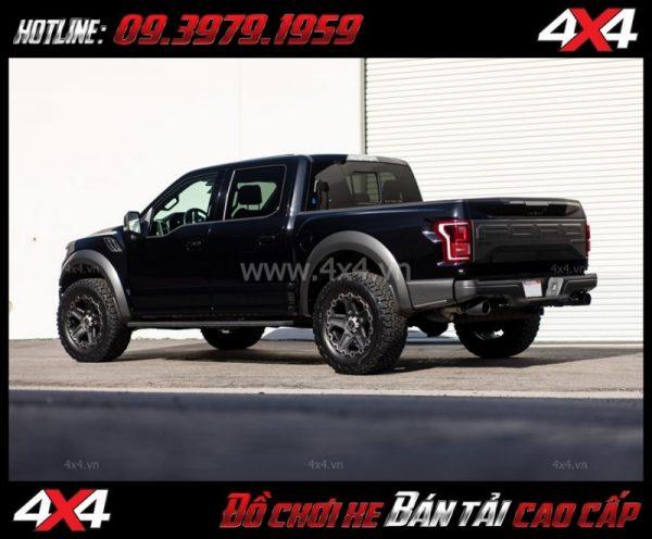 Tấm ảnh: Mâm Lazang xe oto 17 inch Blackrhino Mint Matte Đen, Xám độ xe bán tải, ô tô