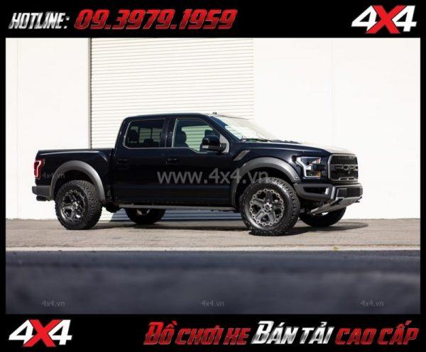 Bức ảnh: Mâm Lazang xe ô tô 17 inch Blackrhino Mint Matte Đen, Xám độ xe bán tải, xe ô tô