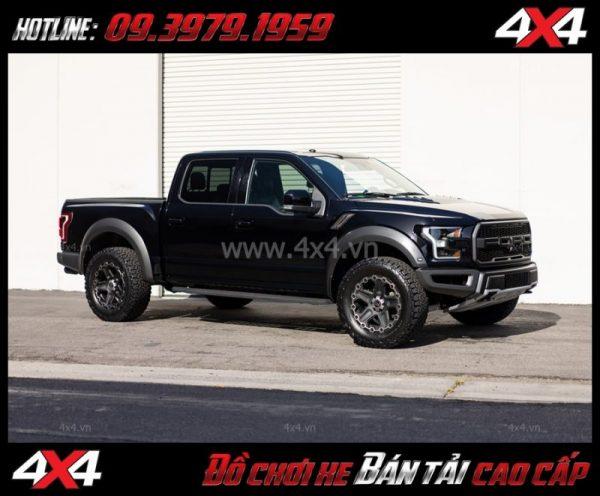 Image: Mâm Lazang ô tô 17 inch Blackrhino Mint Matte Đen, Xám độ xe bán tải, ô tô