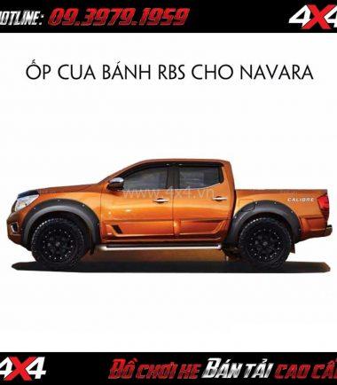 Photo Ốp cua lốp cho xe bán tải Nissan Navara giá rẻ chất lượng ở Sài Gòn