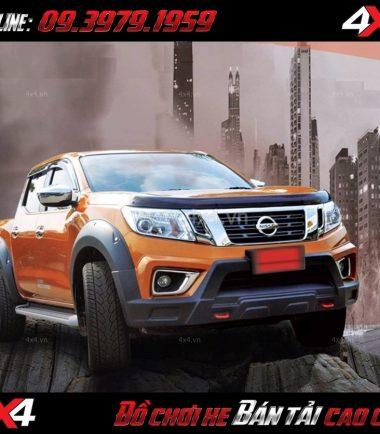 Bức ảnh Ốp cua lốp cho xe bán tải Nissan Navara giá rẻ chất lượng ở Sài Gòn