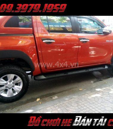 Tấm ảnh Ốp cua lốp cho xe bán tải Toyota Hilux chất lượng giá rẻ tại Sài Gòn