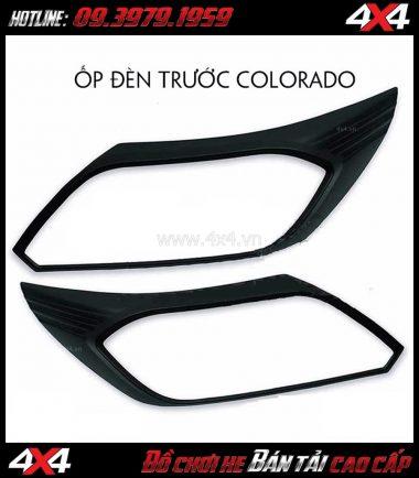 Photo: Ốp đèn pha Colorado màu đen dành cho xe bán tải Chevrolet Colorado