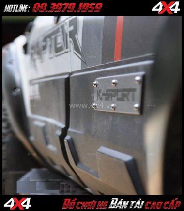 Photo Ốp sườn Ford Ranger 2019 2018 K-Sport độ đẹp, cứng cáp, chất lượng và giá rẻ tại HCM