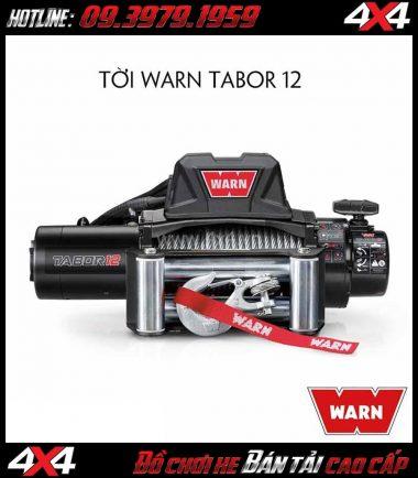 Tời điện Warn Tabor 12 tiện lợi dành cho xe bán tảiTời điện Warn Tabor 12 tiện lợi dành cho xe bán tải