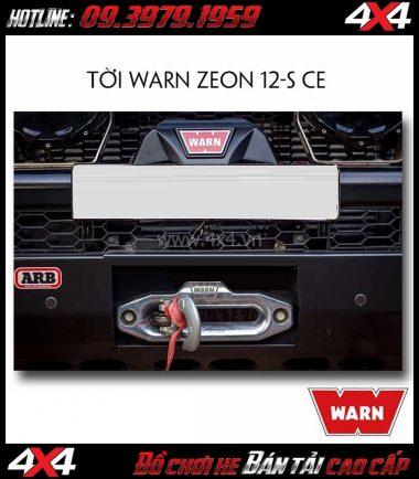 Image: Tời điện WARN ZEON 12-S CE dùng để cứu hộ cho xe khi mắc lầy