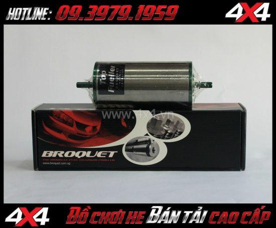 Xúc tác nhiên liệu broquet in-line top fueller 60 dành cho xe ô tô, xe bán tải