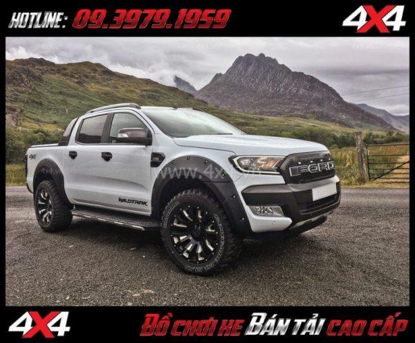 Tấm ảnh: Mâm 18 inch Black Rhino Pinatubo 18x9.5 ET-18 mạnh mẽ rất đăng cấp độ xe bốn bánh, xe bán tải