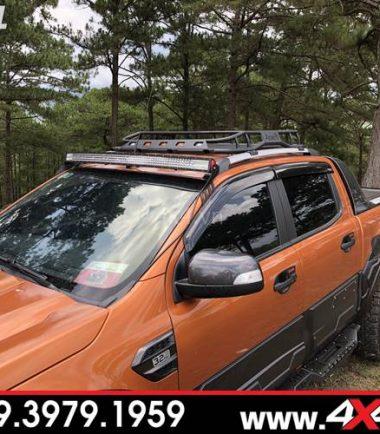 Đồ chơi xe Ford Ranger: Baga mui Jungle độ đẹp cứng cáp và chất dành cho xe bán tải Ford Ranger