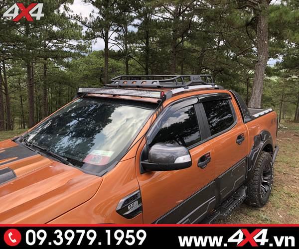 Baga mui xe Ford Ranger: Baga mui Jungle độ đẹp cứng cáp và chất dành cho xe bán tải Ford Ranger