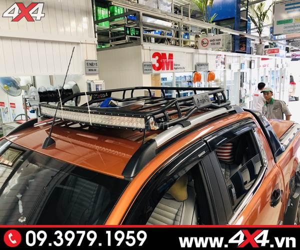 Lên baga mui cho xe Ford Ranger 2020 cực ngầu tại 4x4