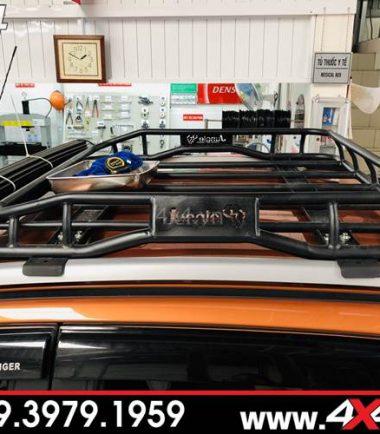 Đồ chơi xe Ford Ranger: Baga mui Jungle đẹp, cứng cáp và chất độ xe bán tải Ford Ranger