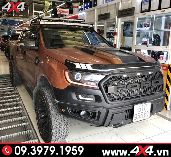 Đồ chơi xe Ford Ranger: Body kit Raptor độ đẹp, hầm hố và ngầu cho xe bán tải Ford Ranger tại HCM