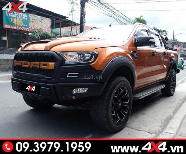 Đồ chơi xe Ford Ranger: Body kit Ranger Raptor độ đẹp, chất và ngầu cho xe bán tải Ford Ranger