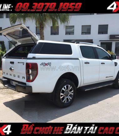 Tấm ảnh Nắp thùng cao không đèn kiểu Range Rover sang trọng bậc nhất dành cho xe bán tải ở TpHCM