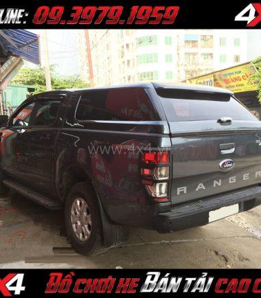 Photo: Nắp thùng cao không đèn kiểu Range Rover sang trọng bậc nhất dành cho xe pick up ở Sài Gòn
