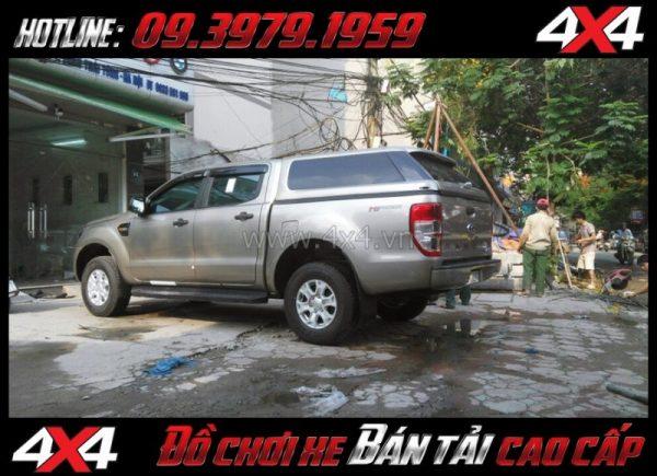 Hình ảnh Nắp thùng cao không đèn mẫu Range Rover sang trọng bậc nhất dành cho xe bán tải tại Tp Hồ Chí Minh