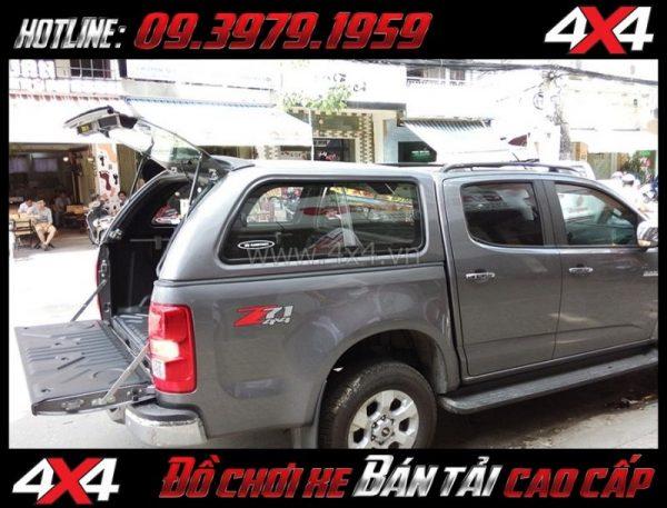 Image Nắp thùng cao CarryBoy Series 5 (S560) gắn đẹp giá rẻ dành cho xe pick-up tại Sài Gòn
