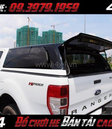 Photo: Nắp thùng cao CarryBoy Series 6 (S6) lắp đẹp giá rẻ dành cho xe bán tải tại HCM