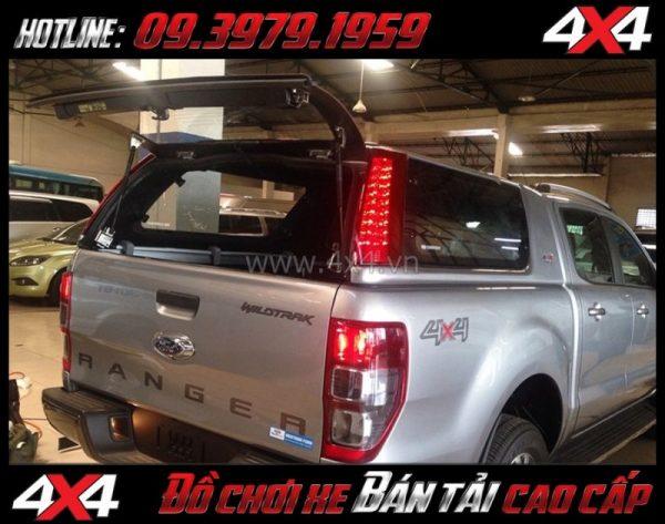 Photo: Nắp thùng cao CarryBoy Series 7 (S7) sang trọng giá rẻ dành cho xe pick-up ở Tp.HCM