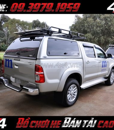 Picture: Nắp thùng cao CarryBoy SO Series mạnh mẽ giá rẻ dành cho xe pick up ở Tp.HCM