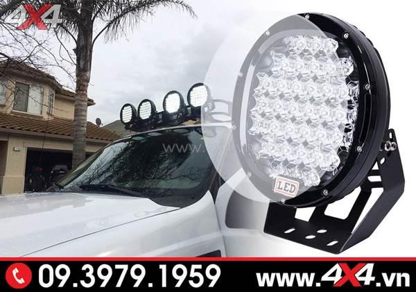Đồ chơi xe Ford Ranger: Đèn led tròn trợ sáng cực tốt cho xe bán tải Ford Ranger