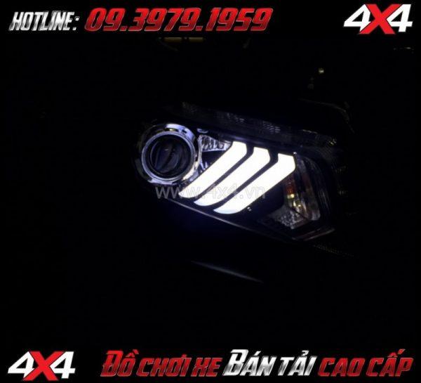 Photo cách tăng độ sáng cho Ford Ranger 2019 2018 Độ Bi Xenon giúp tăng sáng đèn trước hiệu quả nhất cho xe pick up Ford Ranger 2018 2019