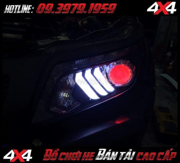 Tấm ảnh cách tăng độ sáng cho Ford Ranger 2019 Độ Bi Xenon giúp tăng sáng đèn trước hiệu quả nhất cho xe off-road Ford Ranger 2019