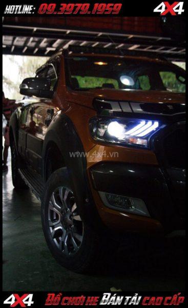 Picture cách tăng độ sáng cho Ford Ranger 2018 Độ Bi Xenon giúp tăng sáng đèn trước hiệu quả nhất cho xe off road Ford Ranger 2019 2018