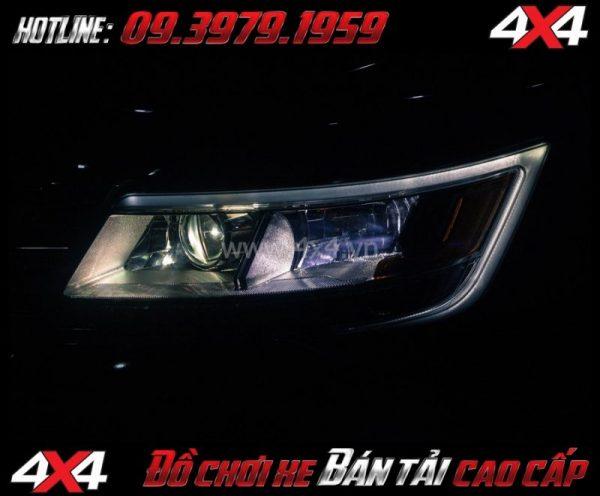 Hình ảnh cách tăng độ sáng cho Ford Ranger 2018 2019 Độ Bi Xenon giúp tăng sáng đèn trước hiệu quả nhất cho xe off road Ford Ranger