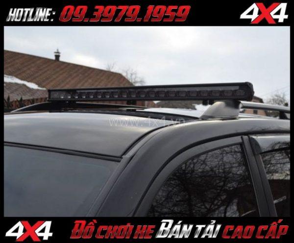 Picture tăng sáng cho Ford Ranger 2019 2018: Led bar 6D thay đẹp và tăng sáng tốt cho xe Ford Ranger 2018