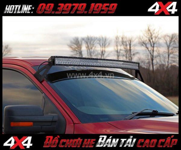 Photo tăng sáng cho Ford Ranger 2018 2019: Led bar 10D gắn đẹp và hài hòa cho xe off-road Ford Ranger 2018 2019