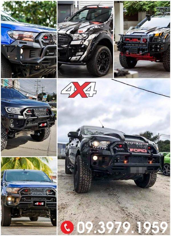 Những mẫu xe bán tải Ford Ranger độ đẹp 2018 2019