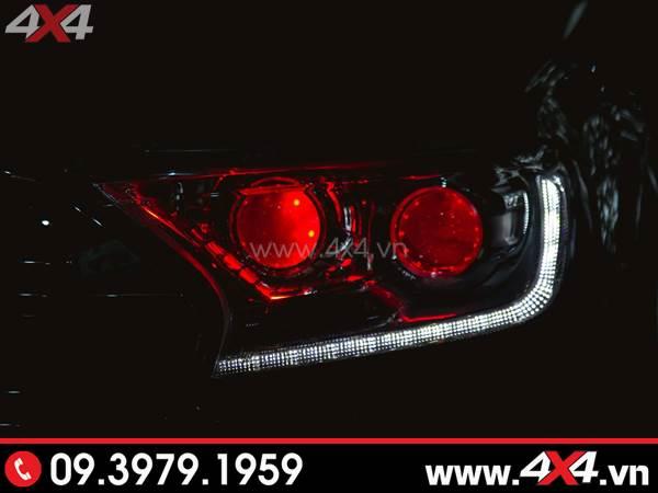 Đèn mắt quỷ kép độ đẹp cho Ford Ranger