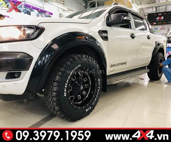 Đồ chơi xe Ford Ranger: Lốp BF Goodrich AT chất lượng dành gắn cho xe Ford Ranger 2018 2019