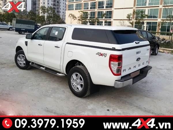 Đồ chơi xe Ford Ranger: Nắp thùng cao kiểu Range Rover độ đẹp và sang trọng dành cho xe bán tải