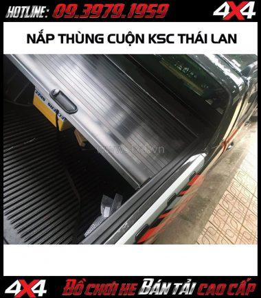 Bức ảnh: nắp thùng trượt KSC thể thao và cứng cáp độ xe pick up ở Sài Gòn