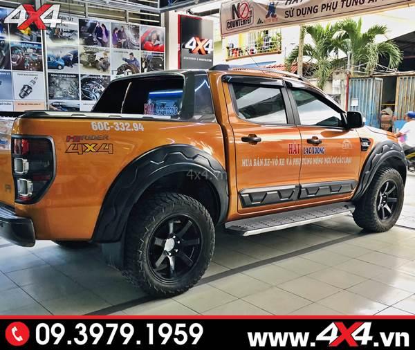 Đồ chơi Ford Ranger: Ốp cua lốp răng cưa FITT độ đẹp và thể thao hơn cho xe bán tải