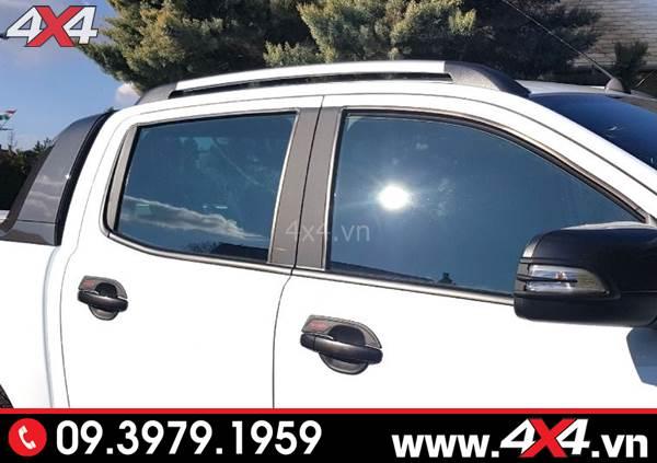 Đồ chơi xe Ford Ranger: Thanh giá nóc gắn tiện lợi và đẹp cho xe Ford Ranger XLT XLS