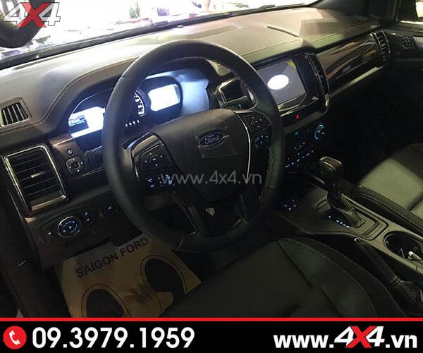 Nội thất xe Ford Ranger 2018 2019