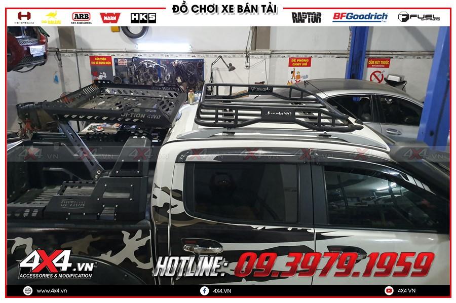 Bảng giá baga mui dành cho xe Ford Ranger 2020 hàng nhập Thái Lan