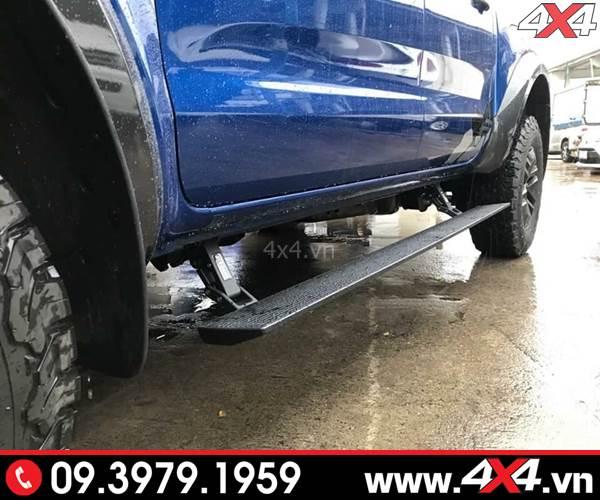 Bậc lên xuống Ford Ranger loại chỉnh điện sang trọng và đẳng cấp cho xe bán tải