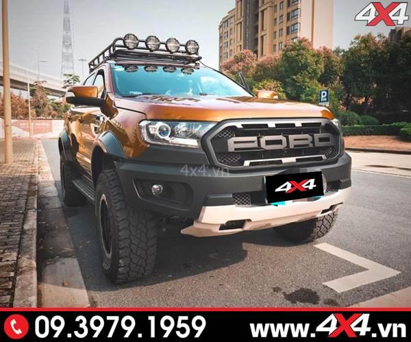 Tư vấn độ body kit Ranger Raptor cho xe Ford Ranger tại tp HCM