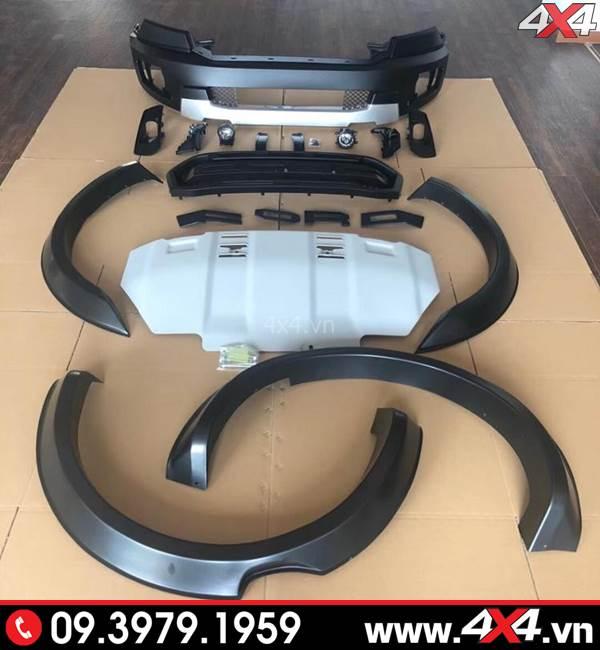 Công ty bán body kit Ford Ranger lên thành Ranger Raptor ở Sài Gòn