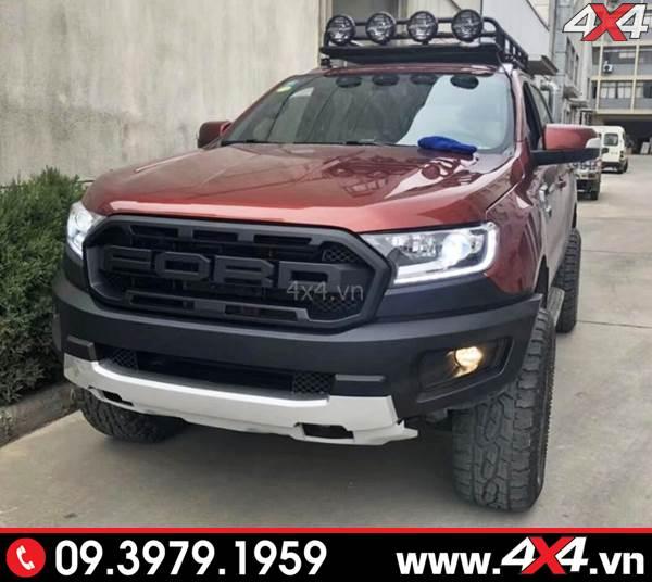 Bộ Body kit Ford Ranger lên đời thành Ranger Raptor dành cho xe bán tải