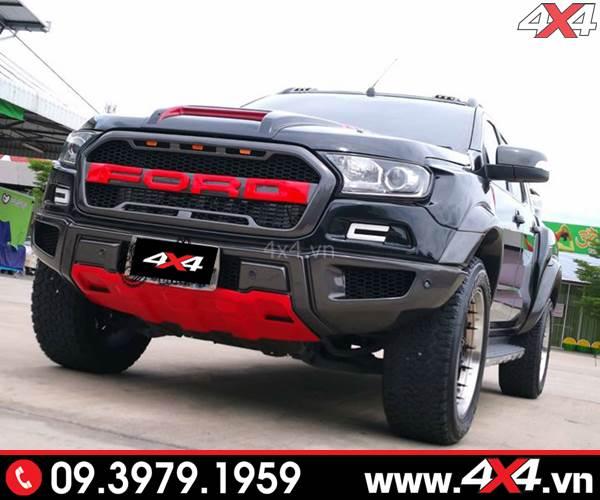 Chuyên nhận gắn body kit Ranger Raptor cho xe Ford Ranger ở tp HCM