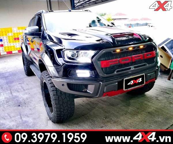 Ford Ranger độ phong cách Raptor Raptor full độ đẹp, đẳng cấp và hầm hố
