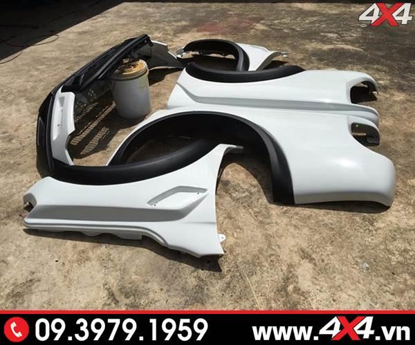 Bộ body kit độ full dành cho xe Ford Ranger XLT, XLS, Wildtrak