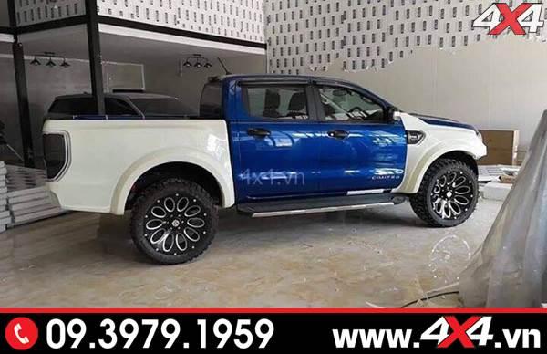 Bộ Body kit Ford Ranger full lên đời thành Ranger Raptor cho xe XLT, XLS, Wildtrak